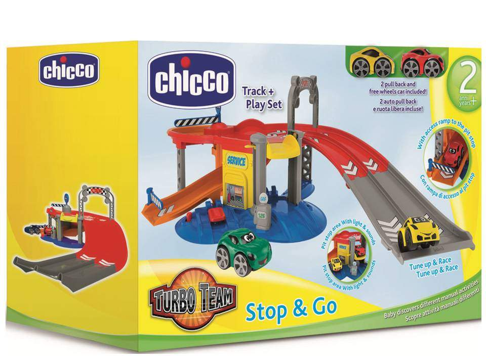 GARAJE TURBO TEAM STOP&GO CHICCO 40369