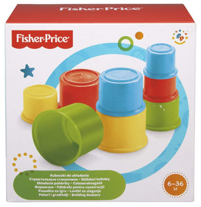 CUBOS DE CONSTRUCCION FISHER PRICE MATTEL 75601