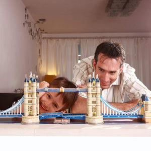 PUZZLE 3D TOWER BRIDGE 120 PIEZAS CUBICFUN MC066