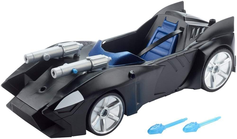 BATMOVIL LANZAMISILES DOBLE BATMAN MATTEL FDF02