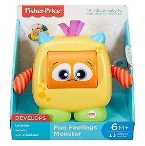 MONSTRUITO CARAS DIVERTIDAS FISHER PRICE MATTEL DRG13