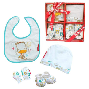 SET DE REGALO PARA RECIEN NACIDO FISHER PRICE ARDITEX FP10117