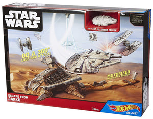 HOT WHEELS PISTA GRAN NAVE STAR WARS ESCAPE DE JAKKU MATTEL CGN32