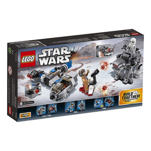 SKI SPEEDER VS CAMINANTE LEGO STAR WARS 75195