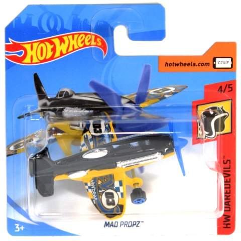 AVION HOT WHEELS MAD PROPZ DAREDEVILS 2018 MATTEL FRR90