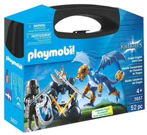 MALETIN CABALLEROS DRAGON PLAYMOBIL 5657