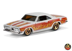 HOT WHEELS 1968 PLYMOUTH BARRACUDA FORMULA S FLAMES MATTEL DTX87