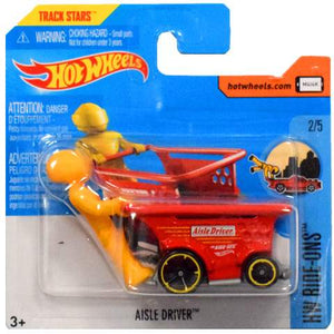 HOT WHEELS AISLE DRIVER RIDE-ONS MATTEL DTX21