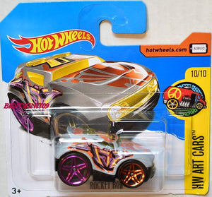 HOT WHEELS ROCKET BOX ART CARS MATTEL DVB86