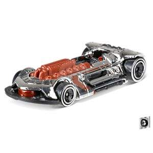 HOT WHEELS X-STEAM SUPER CHROMES MATTEL FJX03