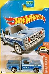 HOT WHEELS 1978 DODGE LI'L RED EXPRESS TRUCK HOT TRUCKS MATTEL DVB72