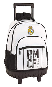 MOCHILA TROLLEY 45 CM. REAL MADRID SAFTA