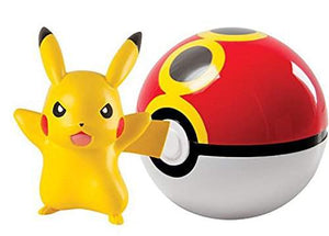 POKEBOLA POKEMON PIKACHU + ACOPIO BALL TOMY T18830