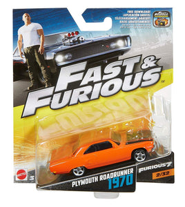 FAST & FURIOUS PLYMOUTH ROADRUNNER 1970