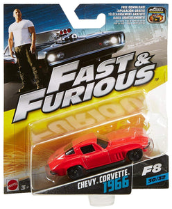 FAST & FURIOUS CHEVY CORVETTE 1966