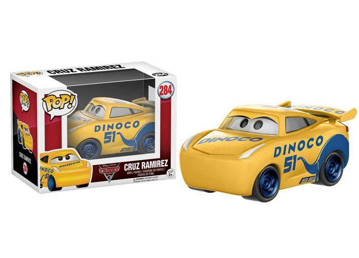 FUNKO POP DISNEY CARS 3 CRUZ RAMIREZ 284