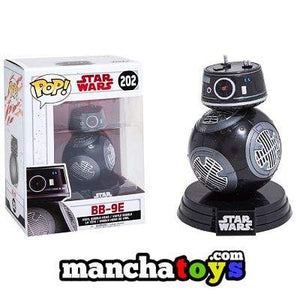 FUNKO POP BOBBLE STAR WARS E8 TLJ BB-9E