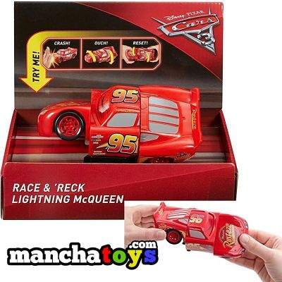 CARS SUPERCHOQUES RAYO MCQUEEN DYW39