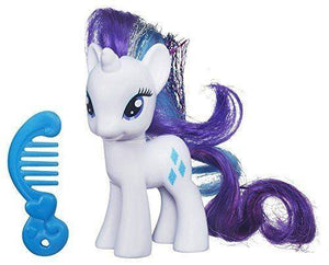MY LITTLE PONY AMIGUITAS RARITY (BLANCO) HASBRO B6372