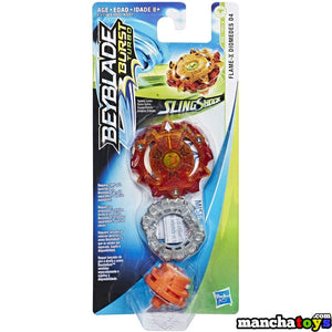 BEYBLADE PEONZA SLINGSHOCK FLAME-X DIOMEDES D4 E4718