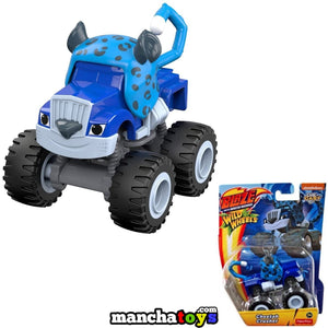 CRUSHER GUEPARD VEHICULO BLAZE Y LOS MONSTER MACHINES