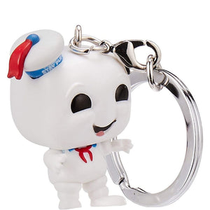 LLAVERO POCKET POP! STAY PUFT CAZAFANTASMAS FUNKO