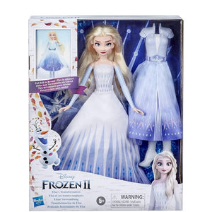 MUÑECA ELSA FROZEN 2 TRANSFORMABLE