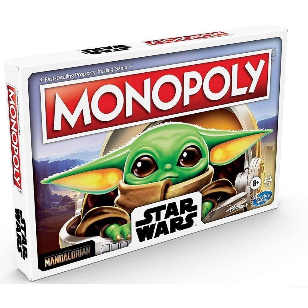 JUEGO MONOPOLY THE CHILD BABY YODA MANDALORIAN STAR WARS