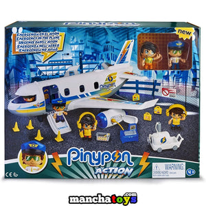 PINYPON ACTION EMERGENCIA EN EL AVION
