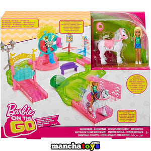 BARBIE FERIA DE SORPRESAS ON THE GO