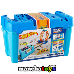 CAJA ACROBACIAS MULTILOOPINGS HOT WHEELS FLK90