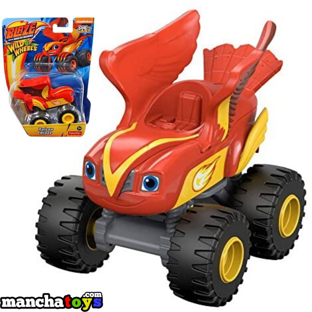 VEHICULO FALCON BLAZE Y LOS MONSTER MACHINES