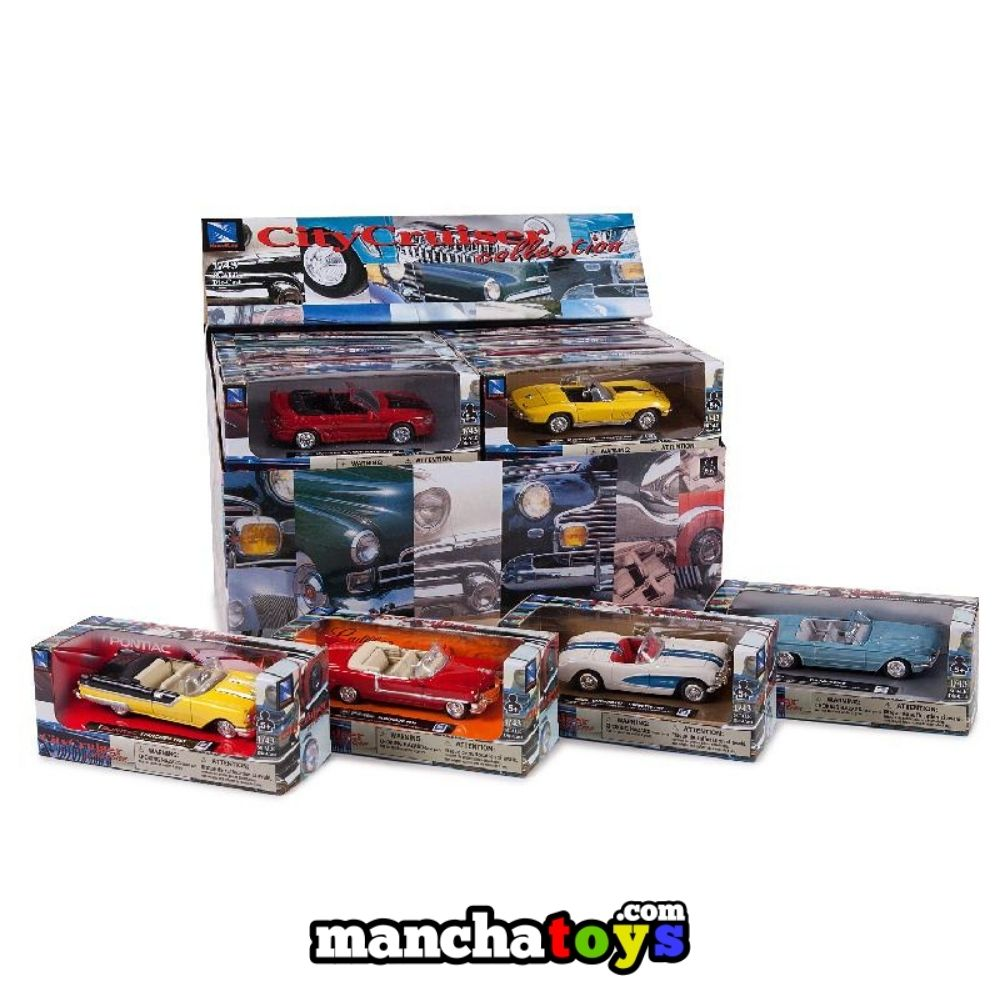 COCHES 1:43 CLASSIC METAL