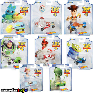 COLECCION COMPLETA TOY STORY 4 HOT WHEELS