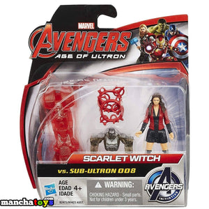 FIGURA SCARLET WITCH VS SUB-ULTRON 008 VENGADORES MARVEL