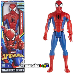 FIGURA TITAN SPIDERMAN 30 CM POWER FX