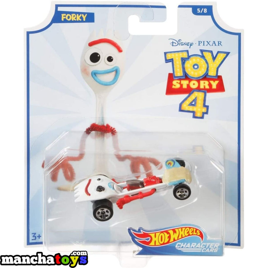 COCHE FORKY TOY STORY 4 HOT WHEELS
