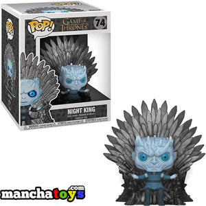 FUNKO POP JUEGO DE TRONOS NIGHT KING SITTING ON THRONE