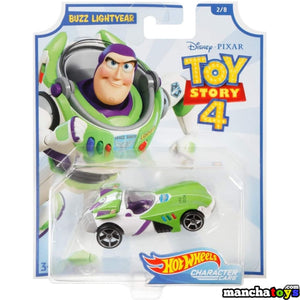 COCHE BUZZ LIGHTYEAR TOY STORY 4 HOT WHEELS
