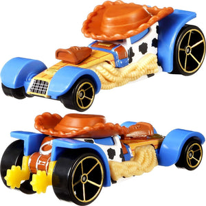 COCHE WOODY HOT WHEELS TOY STORY 4