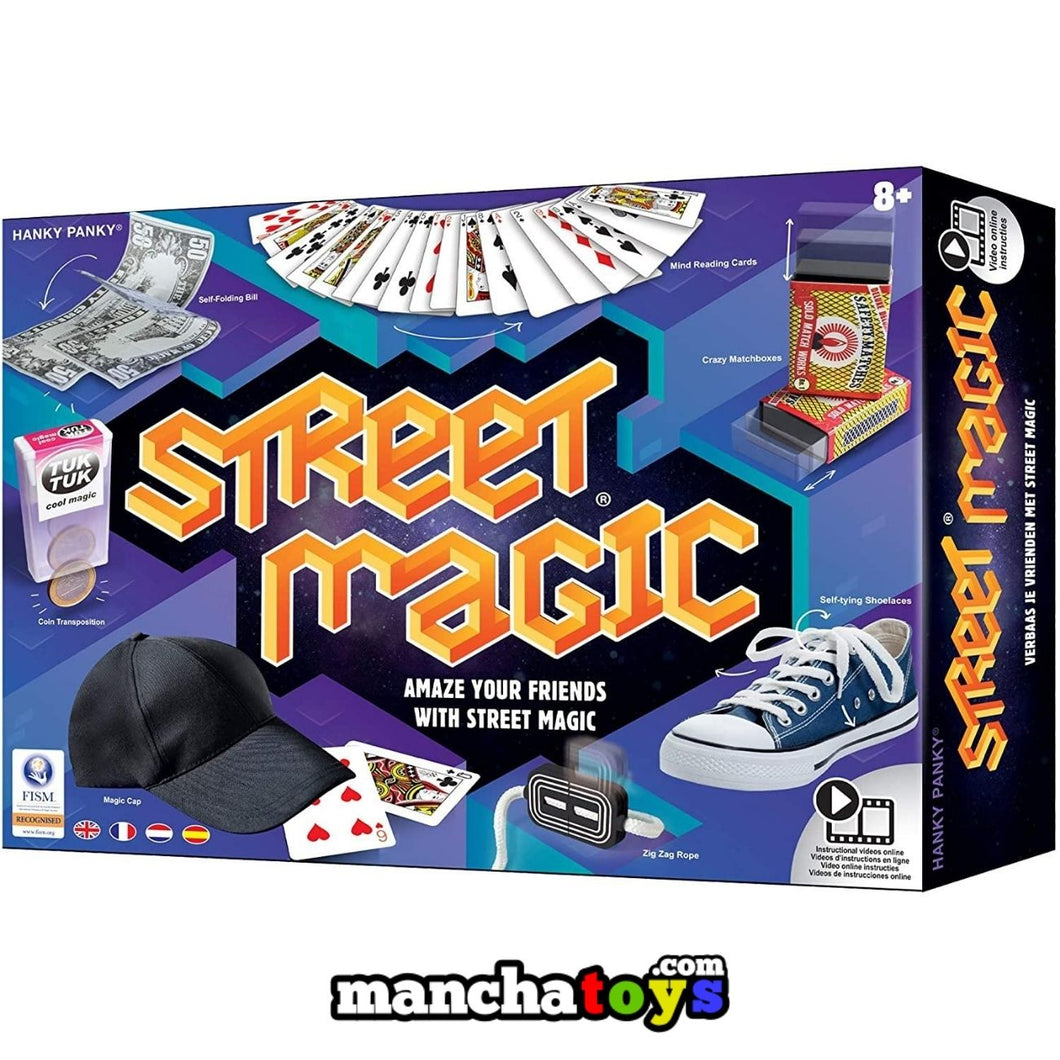 JUEGO MAGIA STREET MAGIC VERSION ONLINE