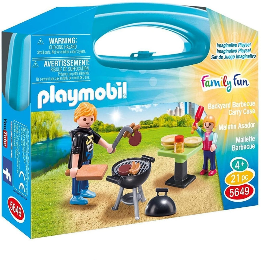 MALETIN BARBACOA PLAYMOBIL (5649)