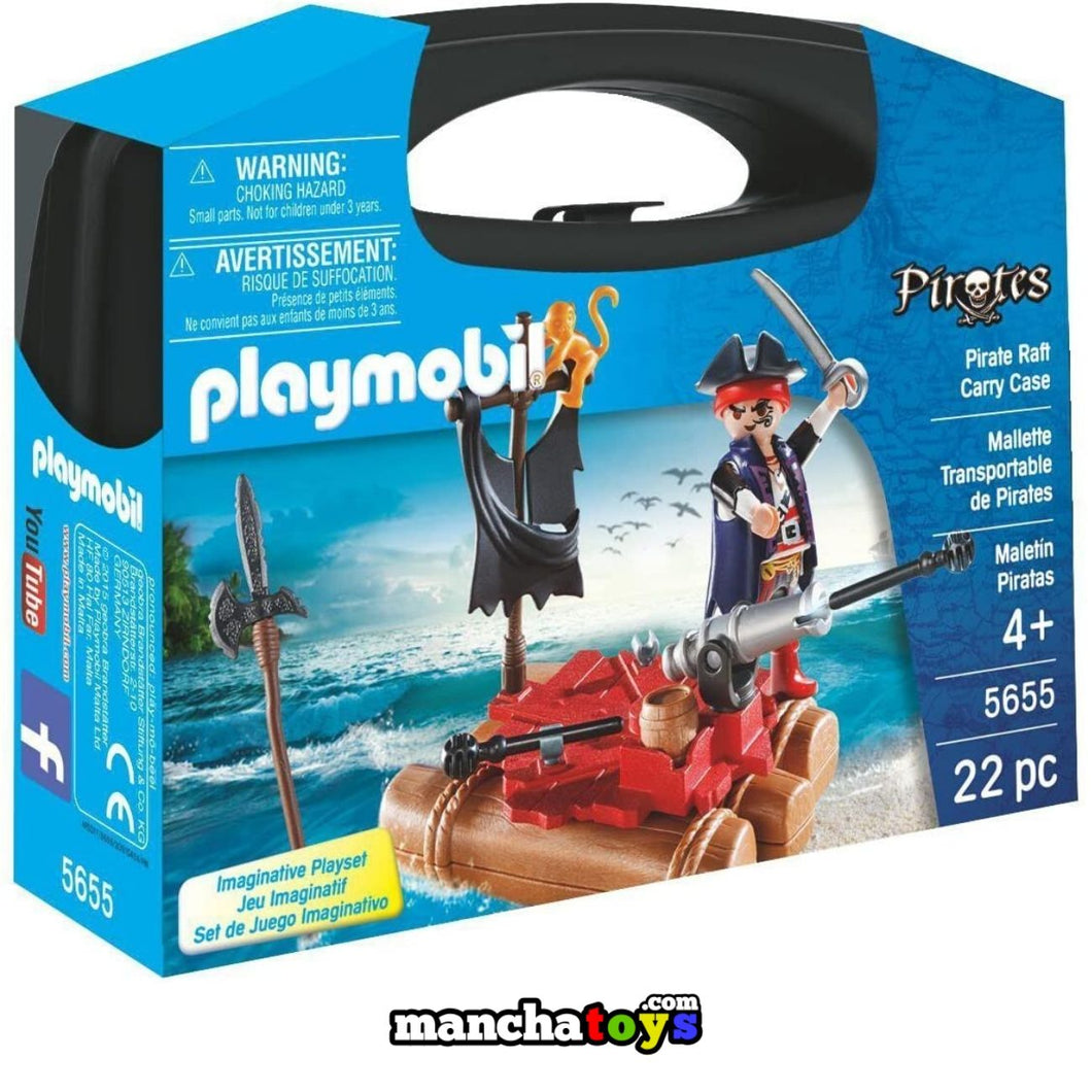 MALETIN PIRATA PLAYMOBIL (5655)