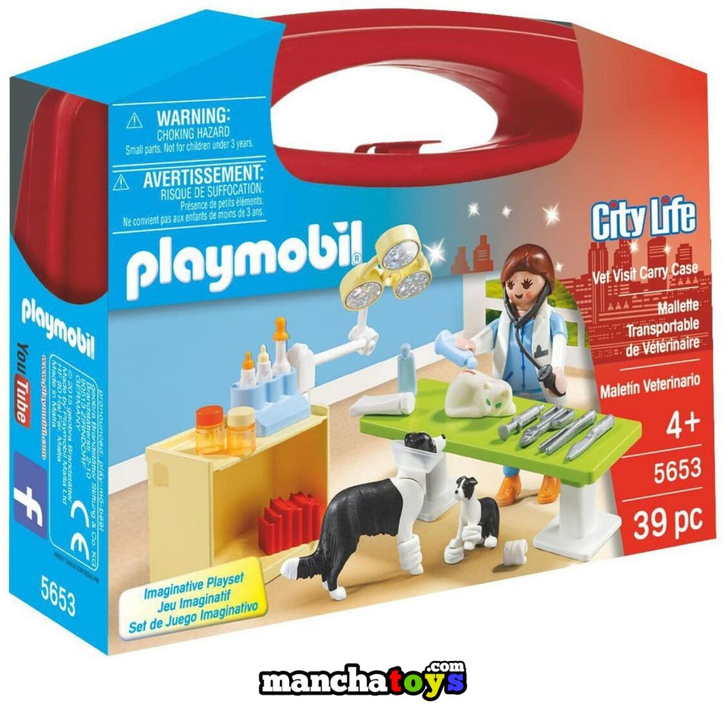 MALETIN VETERINARIO PLAYMOBIL (5653)