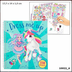 CUADERNO DRESS ME UP UNICORNIOS FANTASY DEPESCHE 10922