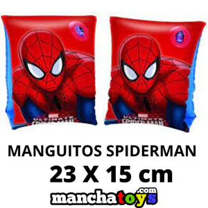 MANGUITOS HINCHABLES SPIDERMAN 23 x 15 CM