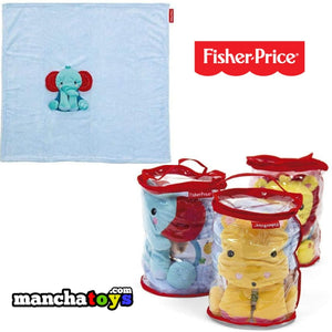 MANTA CON ELEFANTE DE PELUCHE FISHER PRICE