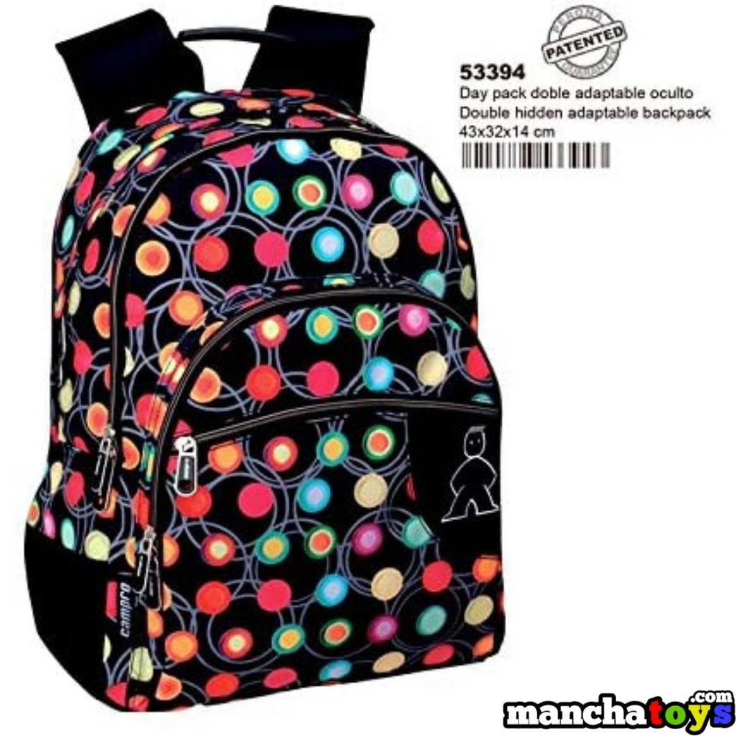 MOCHILA BEVERLY ADAPTABLE A CARRO 43 CM.