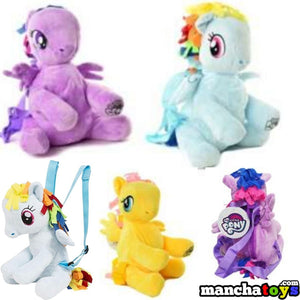 MOCHILA PELUCHE MY LITTLE PONY