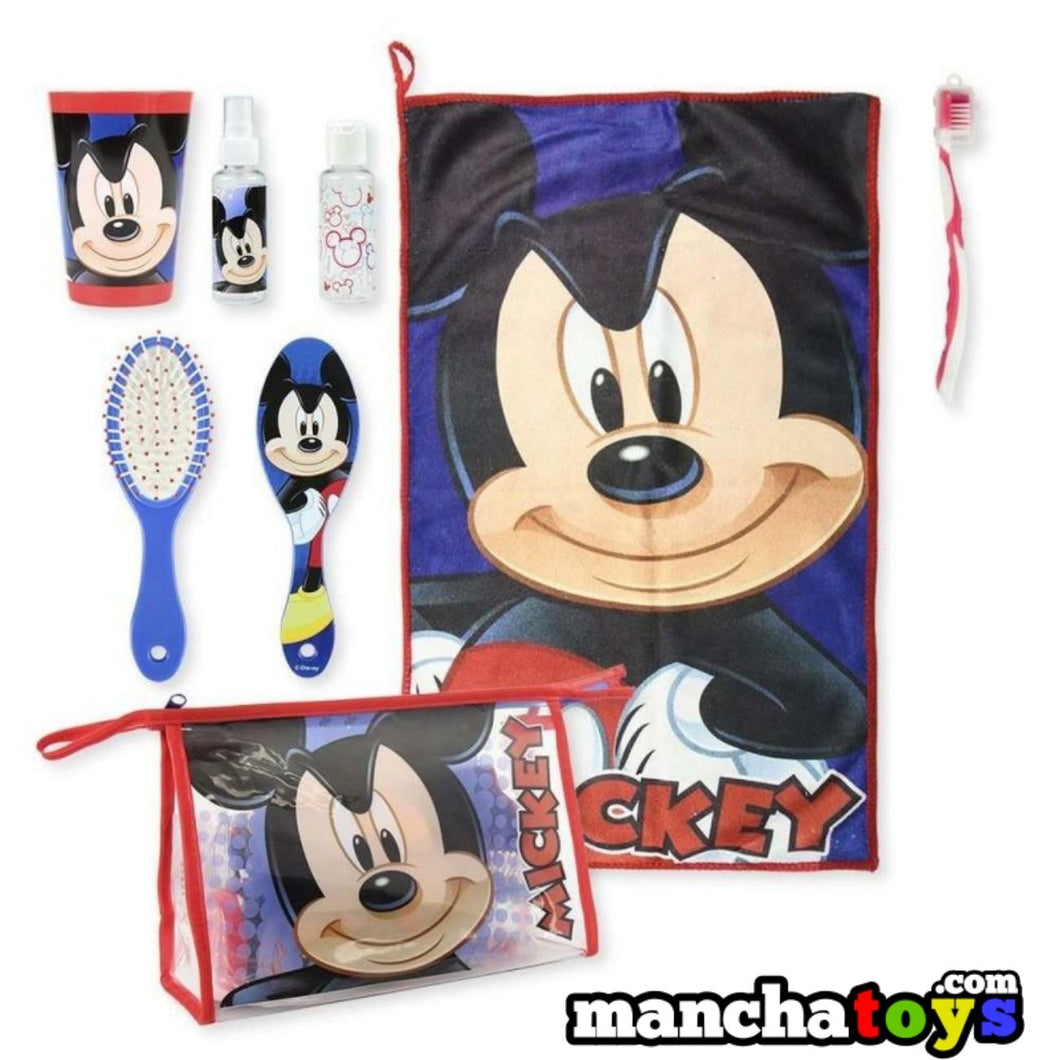 NECESER KIT SET DE ASEO MICKEY MOUSE